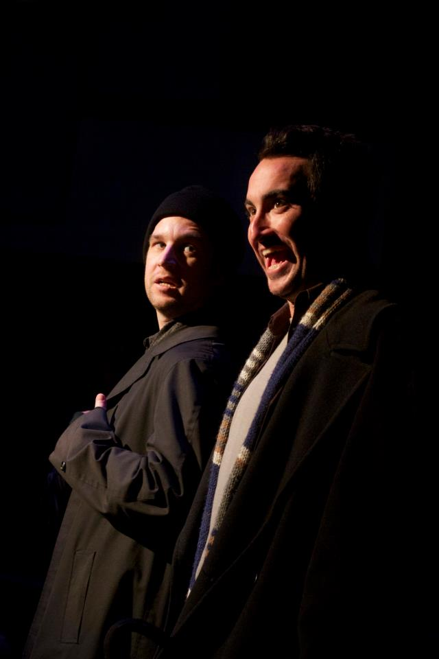 HA3 Preston Lorio and Clayton Farris as Harry and Marv