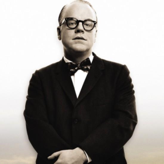 "Philip Seymour Hoffman as author Truman Capote in ""Capote."""