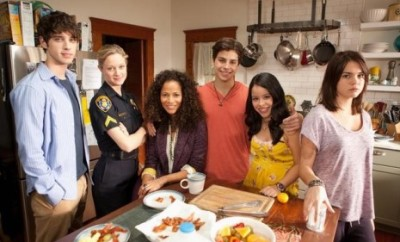 """The Fosters"" cast."