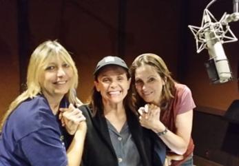 Director-producer Renee Sotile, left, narrator Valerie Harper, producer-composer Mary Jo Godges.