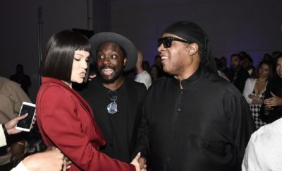 Jessie J, will.i.am and Stevie Wonder at onePulse benefit.