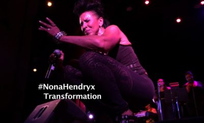 Veteran songstress Nona Hendryx.
