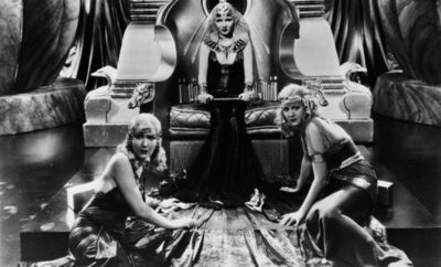 "Claudette Colbert stars as ""Cleopatra"" in DeMille's 1934 classic film."