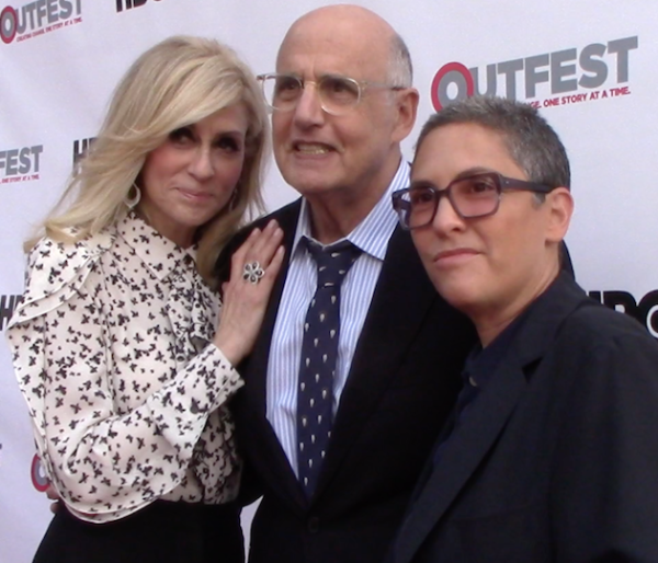 "Judith Light, Jeffrey Tambor, ""Transparent"" creator Jill Soloway."