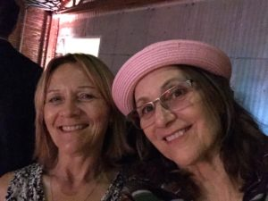 Goweho.com's Laurie Schenden and LGBT Hollywood's Mary Jo Godges.