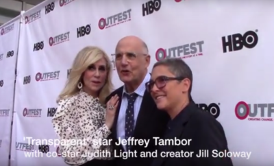 """Transparent's"" Judith Light, Jeffrey Tambor and Jill Soloway."