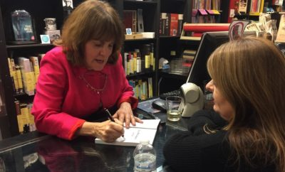 Author Heidi Mastrogiovanni signs 'Lala Pettibone's Act Two' at Book Soup.