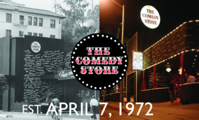 The Comedy Store on Sunset.