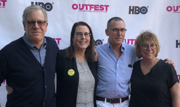 """Filmmaking team behind """"Every Act of Life"""" at Outfest screening."""