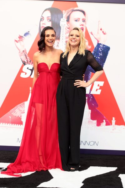 Mila Kunis and Kate McKinnon, stars of 'The Spy Who Dumped Me.'