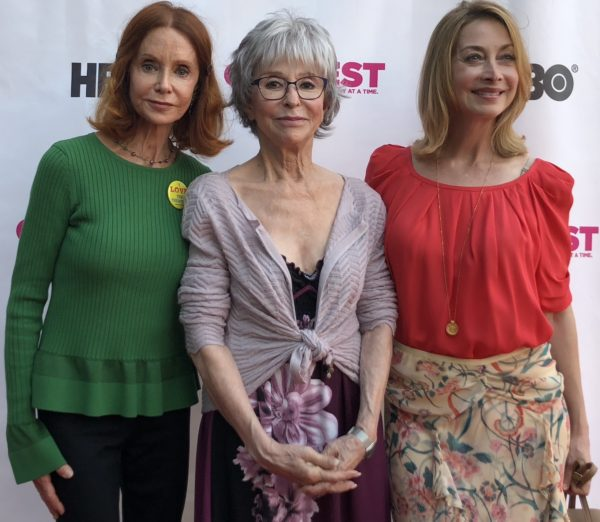 Swoozie Kurtz, Rita Moreno, Sharon Lawrence have acted in McNally plays.