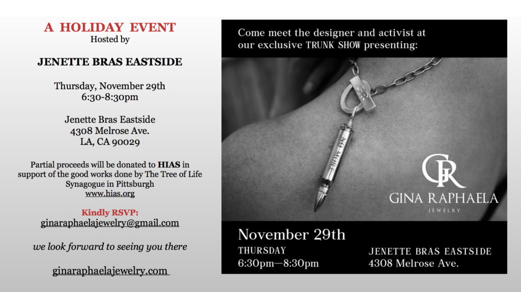 Gina Raphaela Jewelry ad